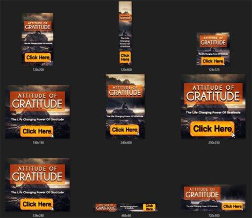 Attitude of Gratitude Ebook and Videos MRR
