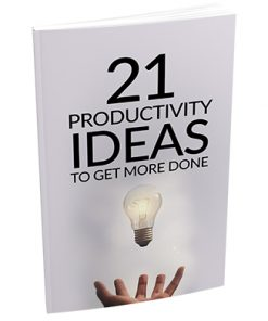 21 Productivity Ideas to Get Things Done Report MRR
