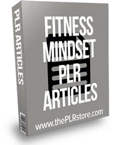 Fitness Mindset PLR Articles