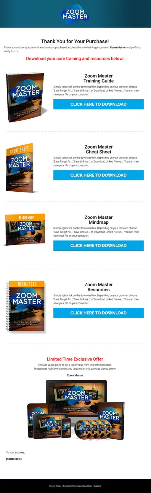 Zoom Master Ebook and Videos MRR