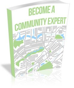 Become a Community Expert PLR Report
