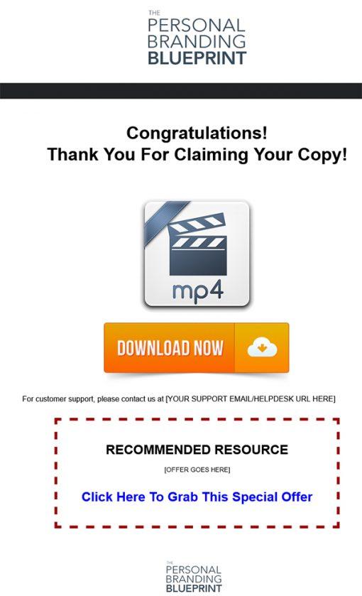 Personal Branding Blueprint Ebook and Videos MRR