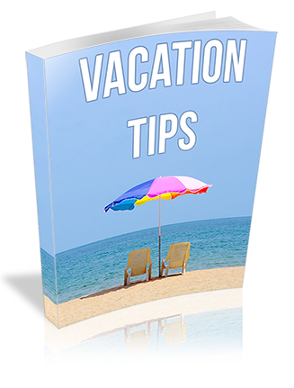 Vacation Tips PLR Report