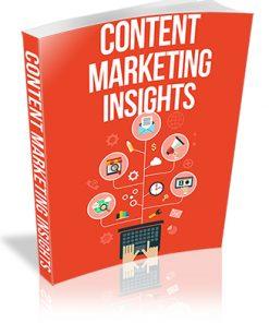 Content Marketing Insights PLR Report