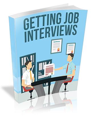 Getting Job Interviews PLR Report