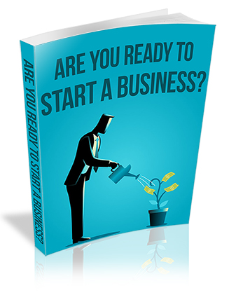Are You Ready to Start a Business PLR Report