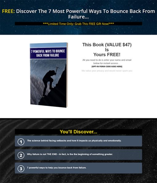 Magic of Starting Over Ebook and Videos MRR