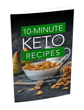 10 Minute Keto Recipe Ebook with Master Resale Rights