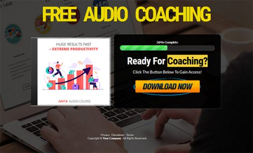 Extreme Productivity Audio with Master Resale Rights