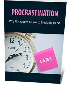 Procrastination PLR Ebook