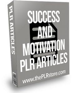 Success and Motivation PLR Articles