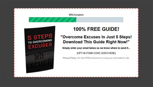 5 Steps to Overcoming Excuses Report MRR