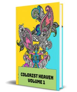 Adult Coloring Heaven Volume 1 MRR