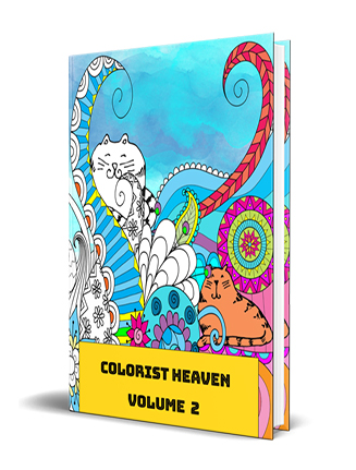 Adult Coloring Heaven Volume 2 MRR