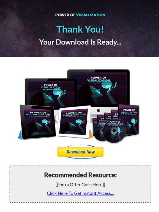 Power of Visualization Ebook and Videos MRR