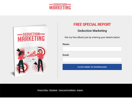 Seduction Marketing Ebook MRR
