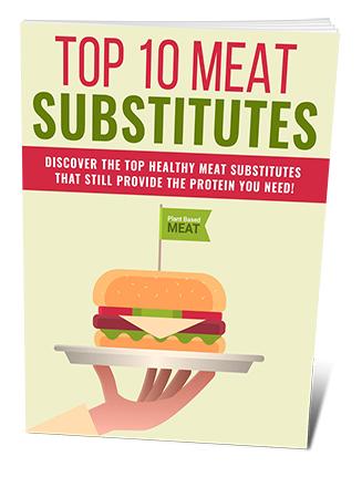 Top 10 Meat Substitutes PLR Ebook