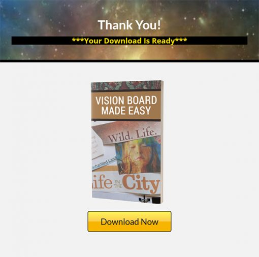 Vision Board Made Easy Ebook MRR