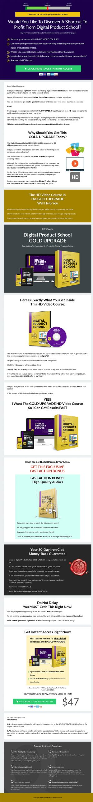 Digital Product School Ebook and Videos MRR