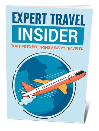 Expert Travel Insider PLR Ebook