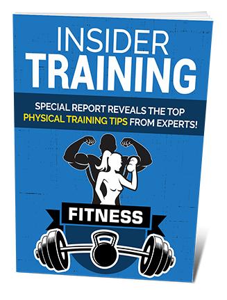 Insider Fitness Training PLR Ebook