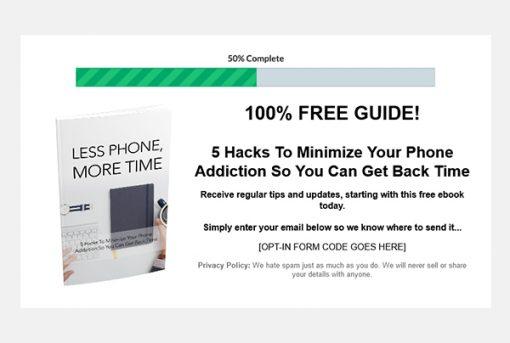 Overcome Phone Addiction Ebook and Videos MRR