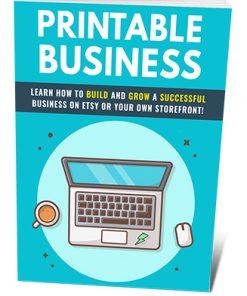 Printable Business PLR Ebook