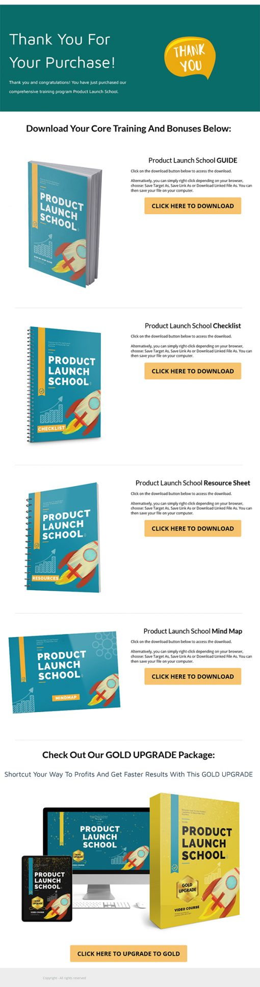 Product Launch School Ebook and Videos MRR