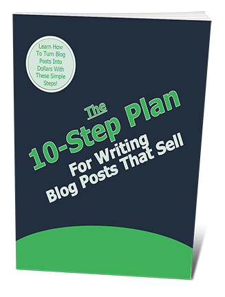 10 Step Plan Writing Blog Posts That Sell PLR Giveaway Report