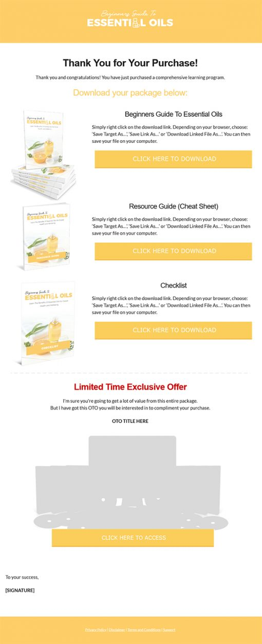 Beginner's Guide to Essential Oils Ebook MRR