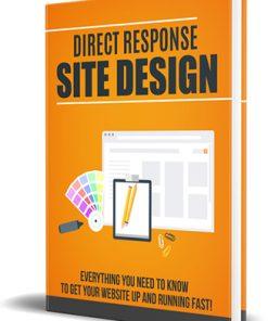 Direct Response Site Design PLR Audiobook and Ebook