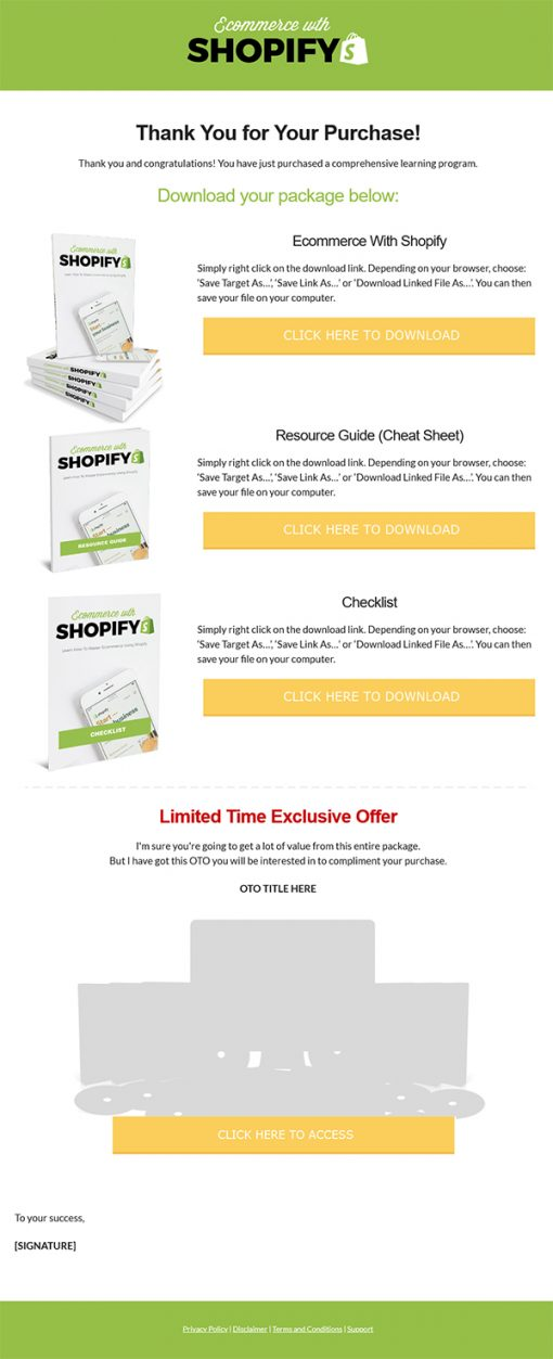 Ecommerce with Shopify Ebook MRR