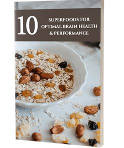 10 Superfoods for Optimal Brain Health and Performance Ebook MRR
