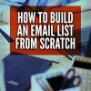 How to Build an Email List from Scratch Ebook and Videos MRR