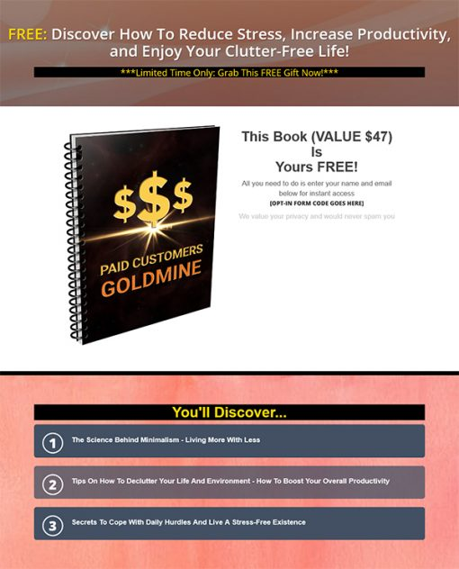 Paid Customer Goldmine Report MRR