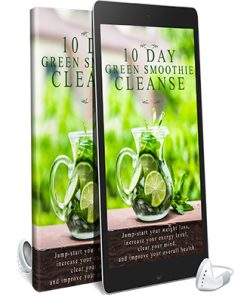 10 Day Green Smoothie Cleanse Audiobook and Ebook MRR