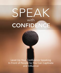 Speak with Confidence Ebook and Videos MRR
