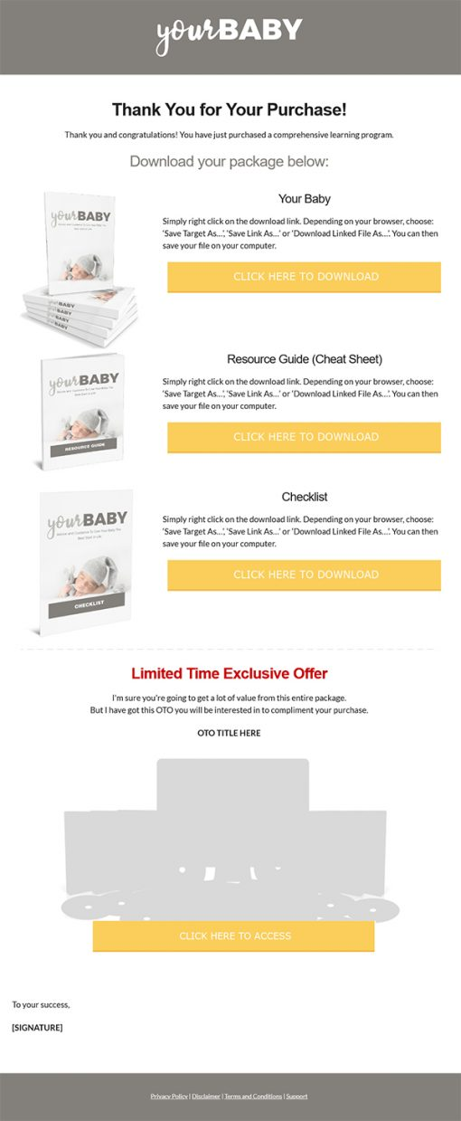 Your Baby Ebook MRR